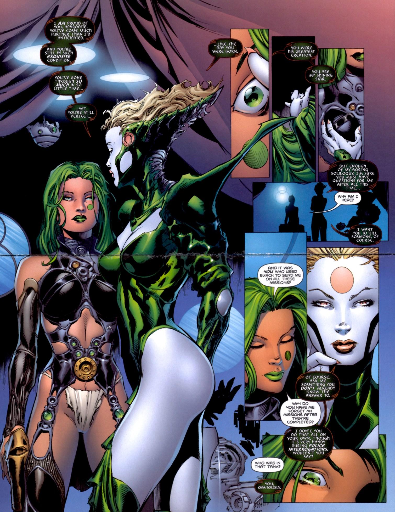Read online Aphrodite IX (2000) comic -  Issue #4 - 19