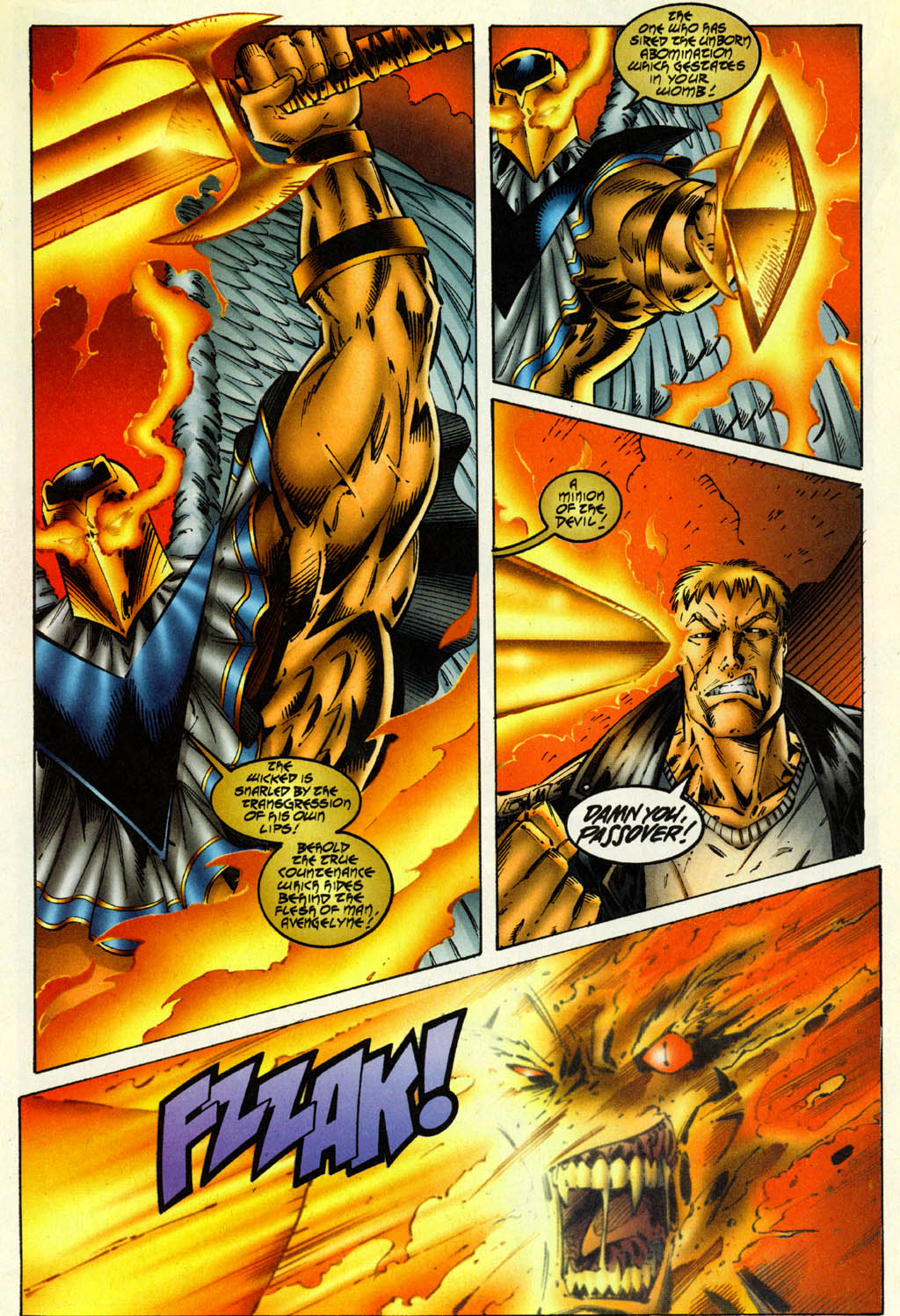 Read online Avengelyne (1996) comic -  Issue #2 - 19