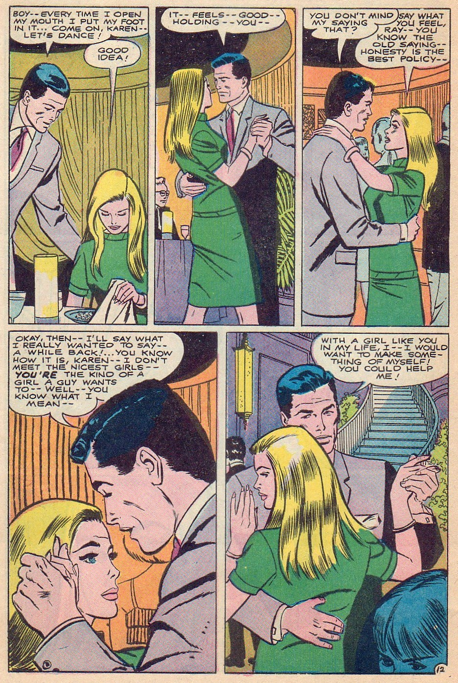 Read online Secret Hearts comic -  Issue #124 - 28