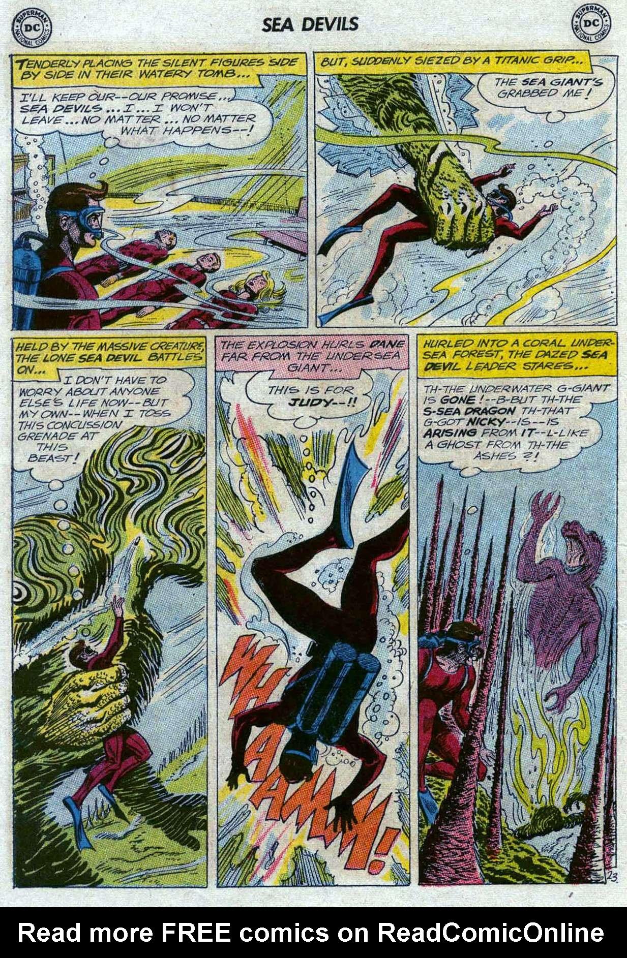 Read online Sea Devils comic -  Issue #11 - 30