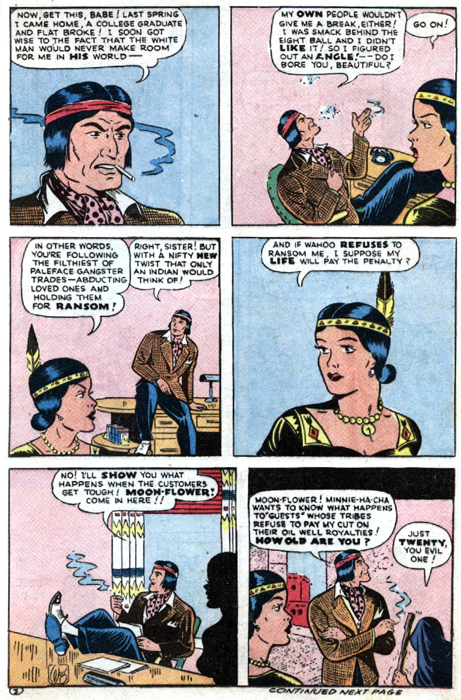 Read online Famous Funnies comic -  Issue #121 - 37