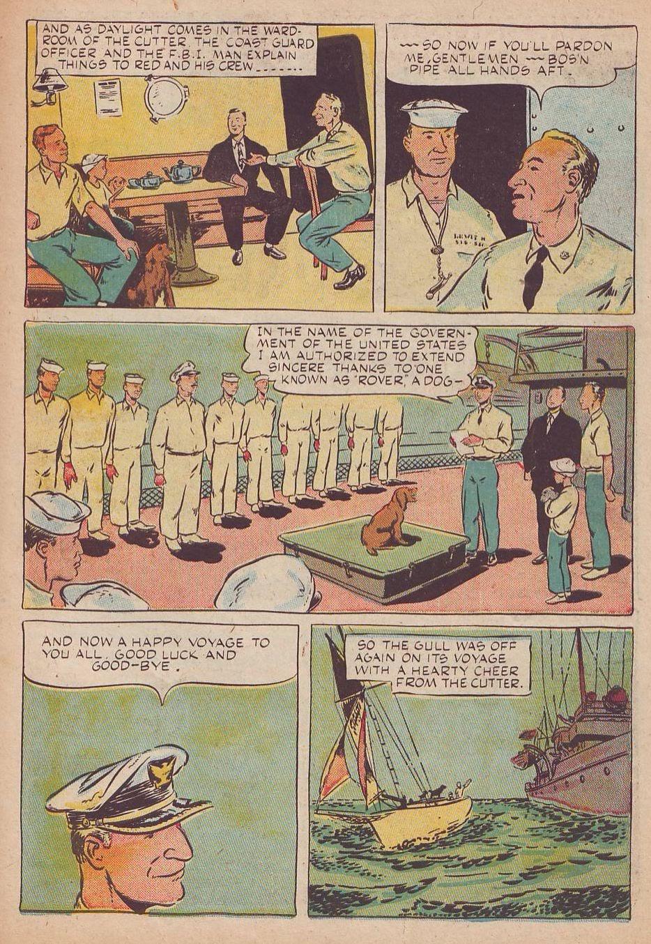 Read online Animal Comics comic -  Issue #25 - 39