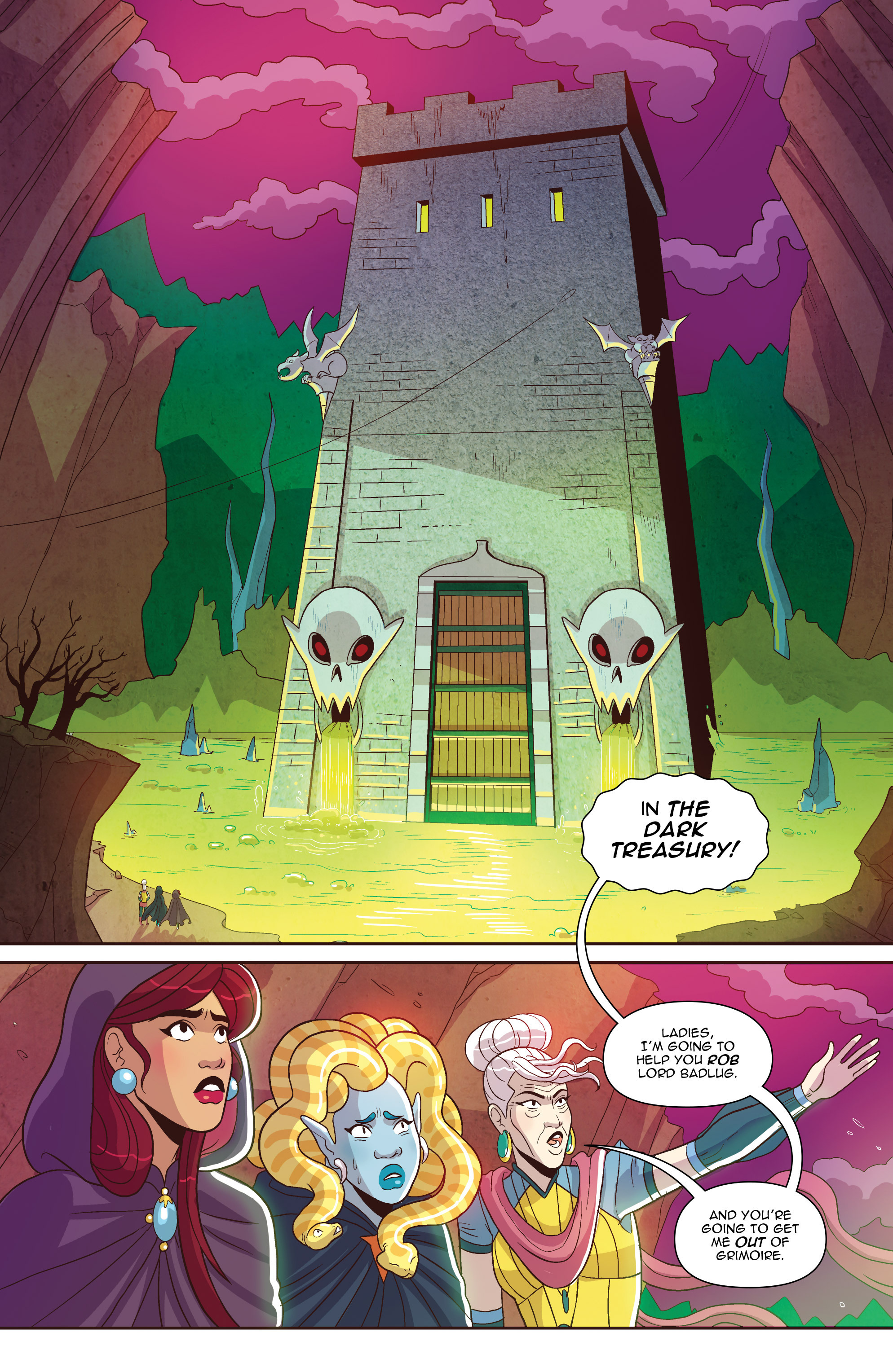 Read online Another Castle comic -  Issue #2 - 14