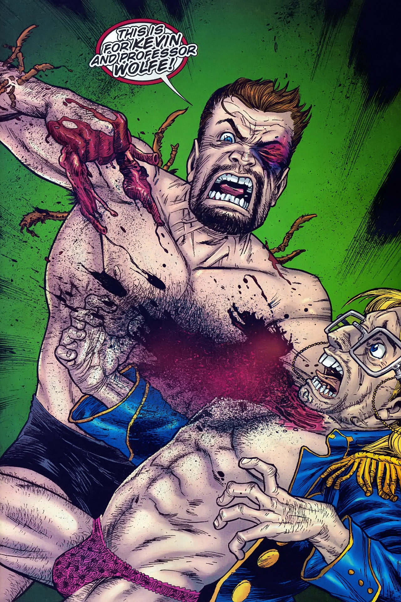 Read online The Exterminators comic -  Issue #30 - 16