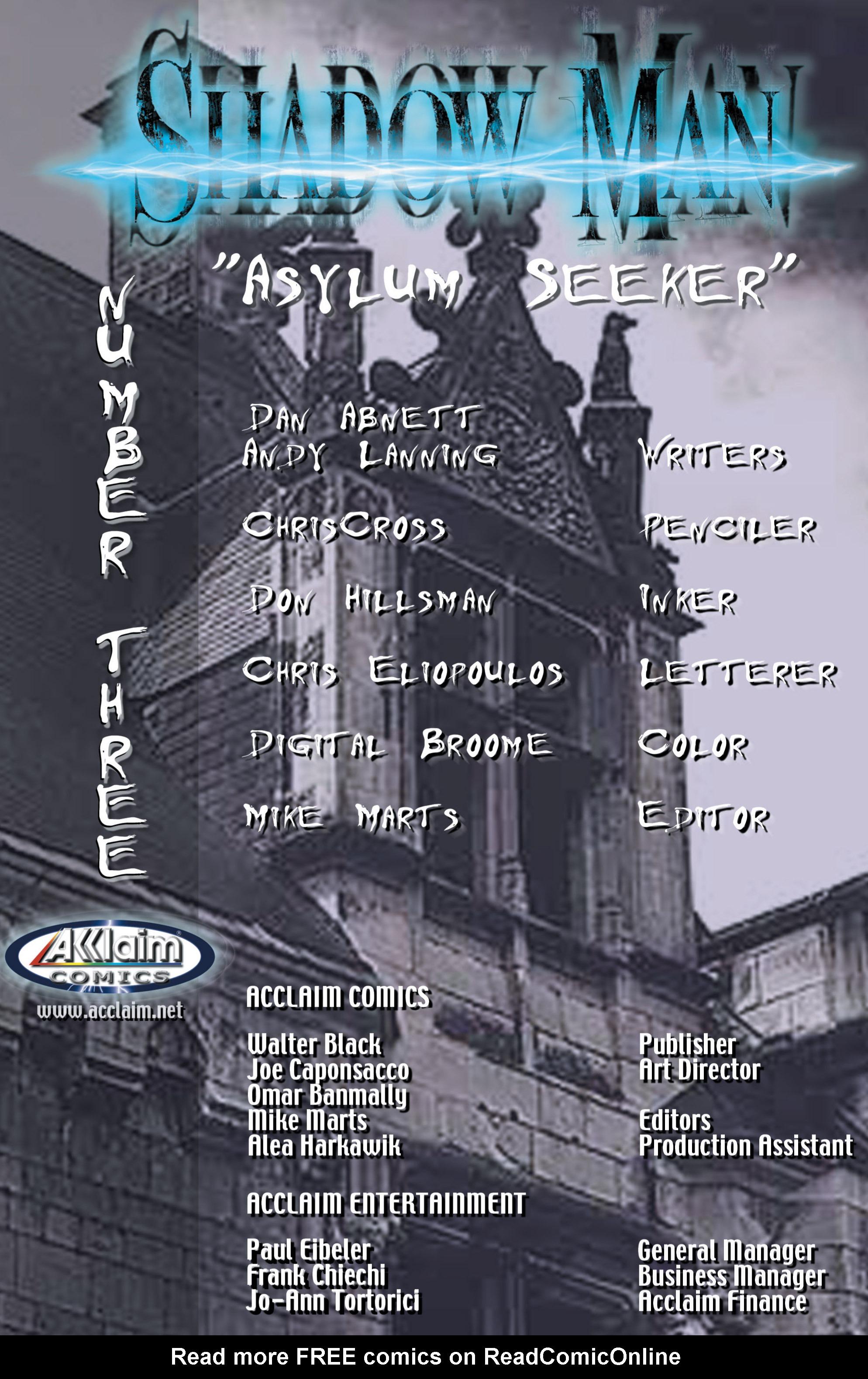Read online Shadowman (1999) comic -  Issue #3 - 2