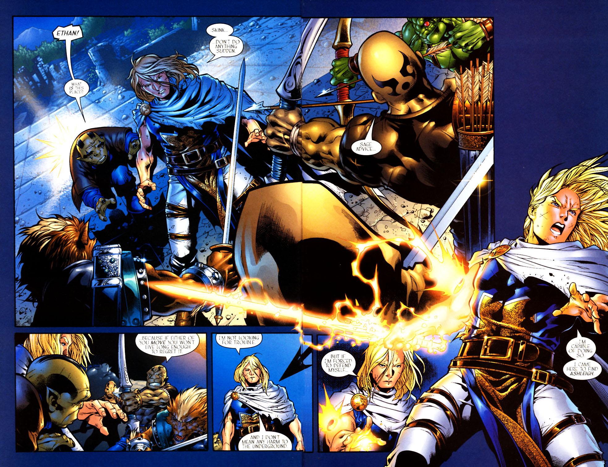 Read online Scion comic -  Issue #10 - 4