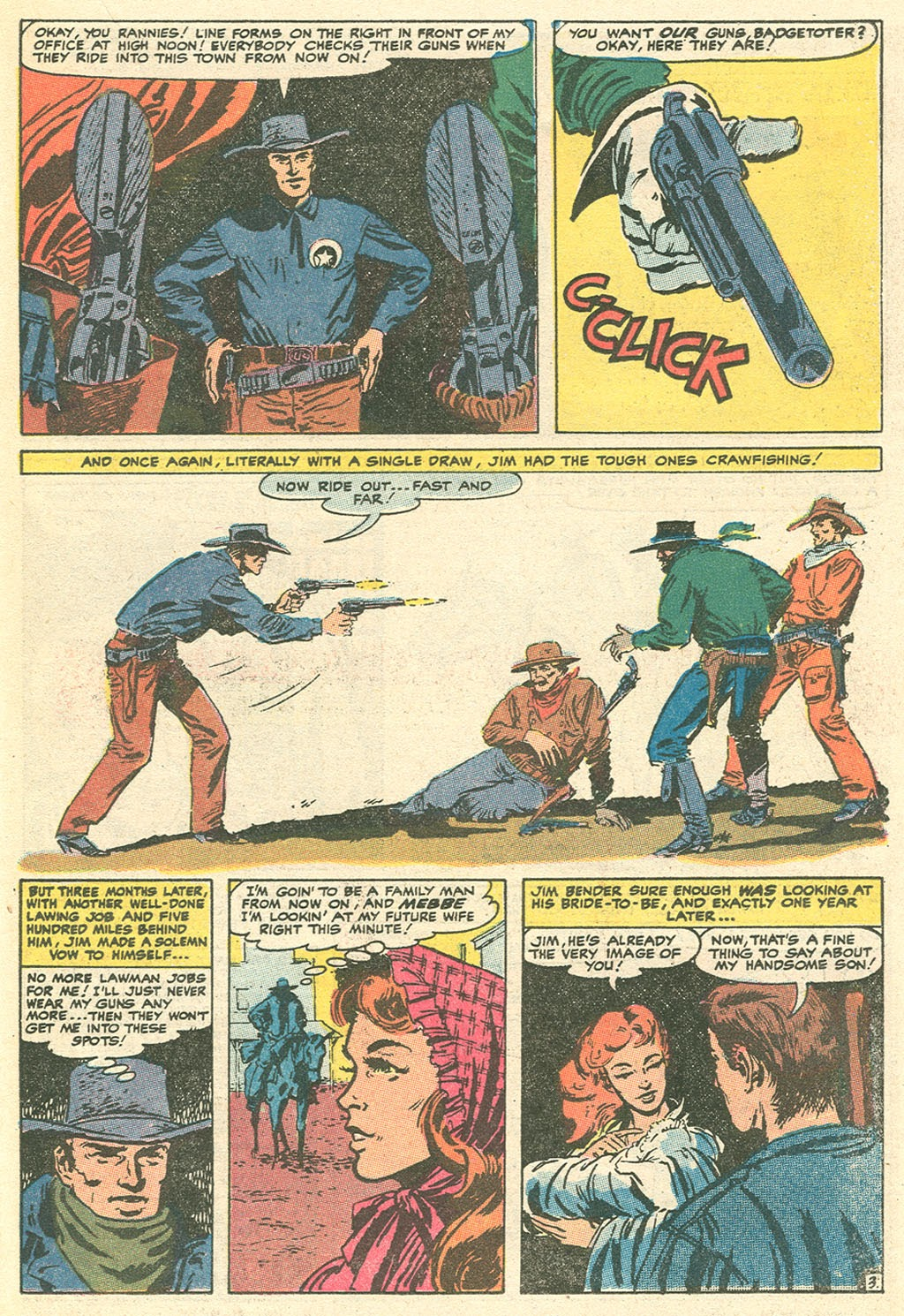 Kid Colt Outlaw issue 151 - Page 23