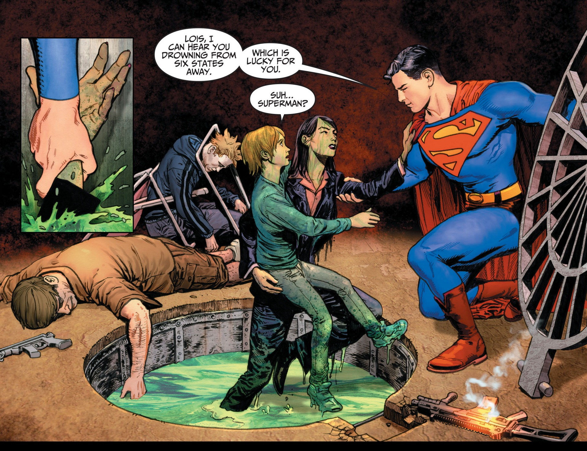Read online Adventures of Superman [I] comic -  Issue #12 - 15