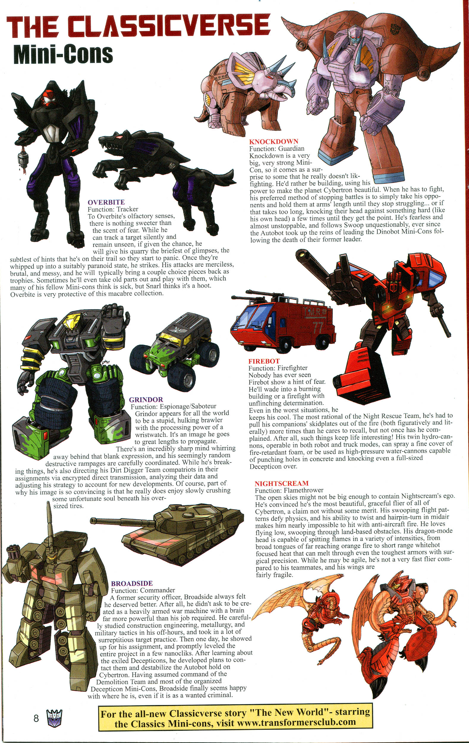 Read online Transformers: Collectors' Club comic -  Issue #16 - 8