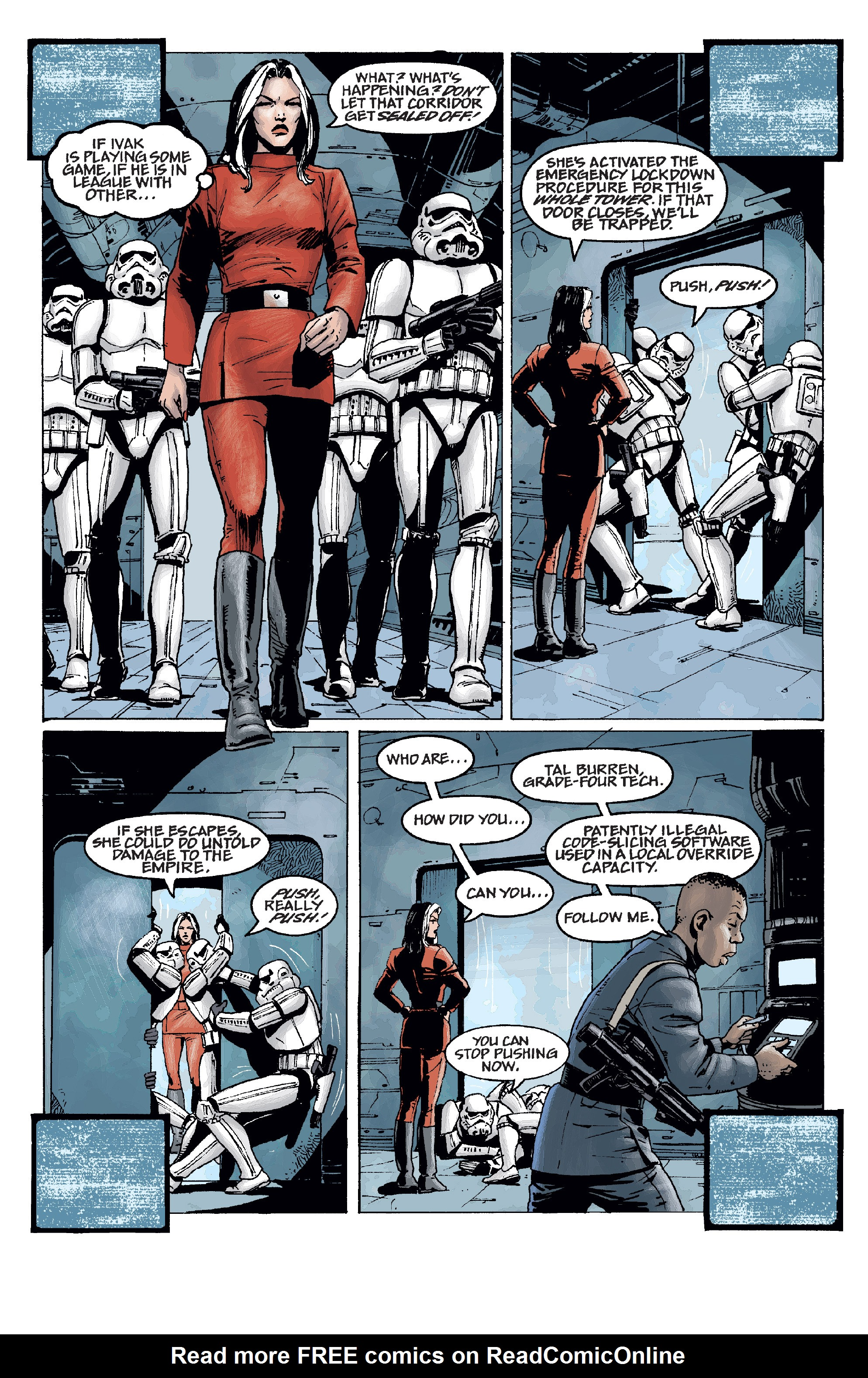 Read online Star Wars Omnibus comic -  Issue # Vol. 11 - 215