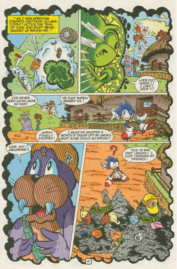 Read online Sonic Super Special comic -  Issue #8 - Giant special - 17