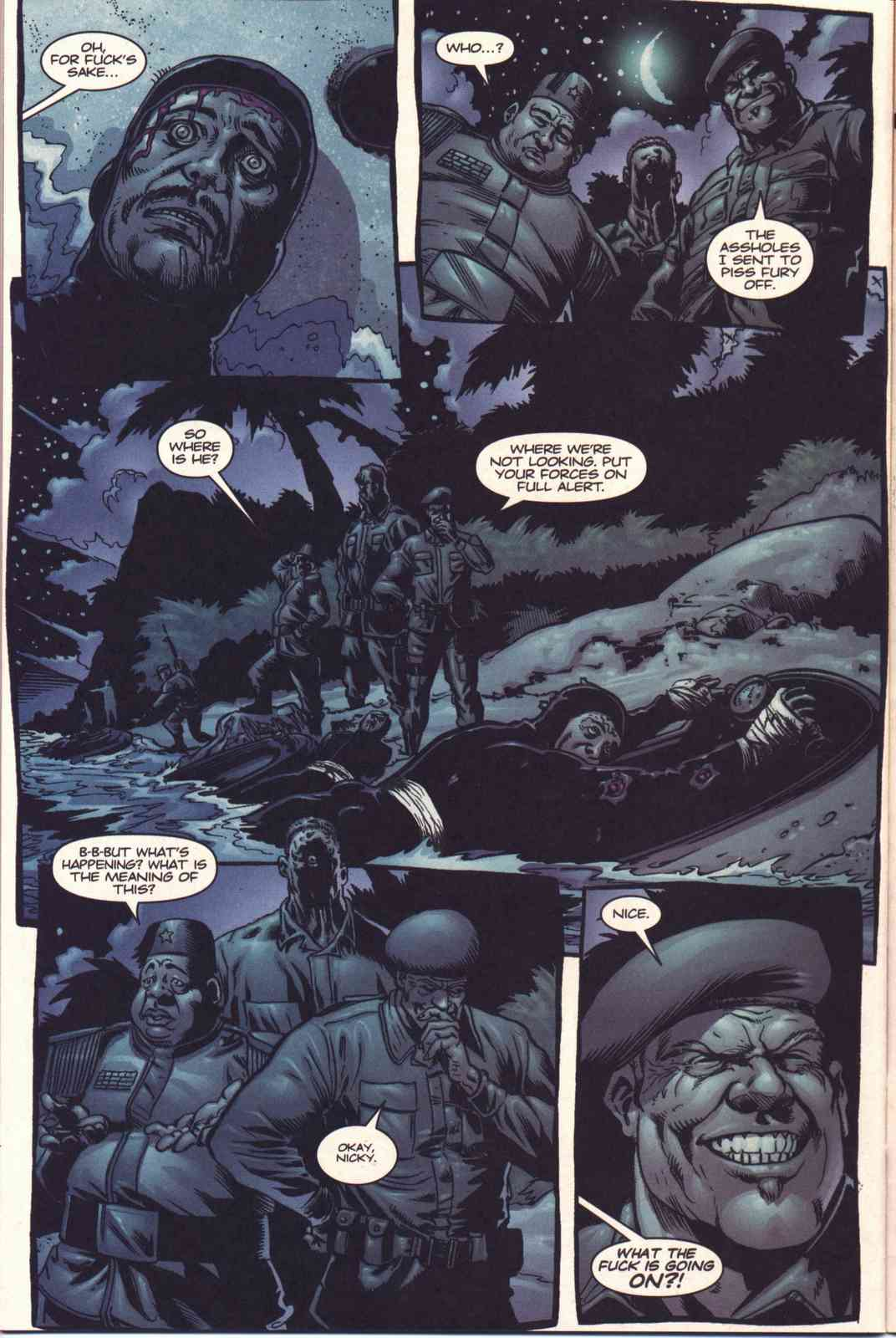 Read online Fury comic -  Issue #3 - 21