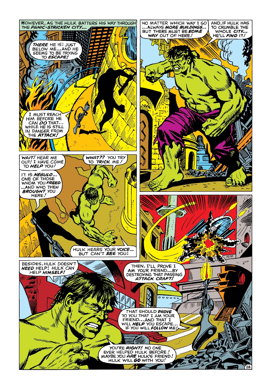 Read online Marvel Masterworks: The Incredible Hulk comic -  Issue # TPB 4 (Part 2) - 61