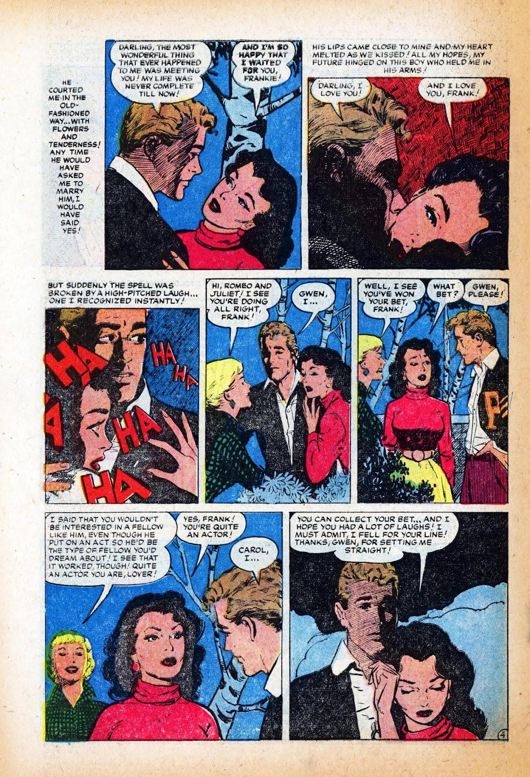 Love Romances (1949) issue 47 - Page 30