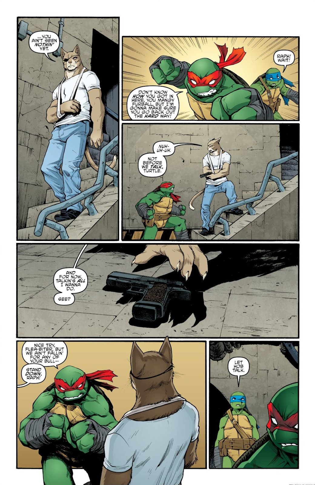 Read online Teenage Mutant Ninja Turtles: The IDW Collection comic -  Issue # TPB 9 (Part 1) - 32