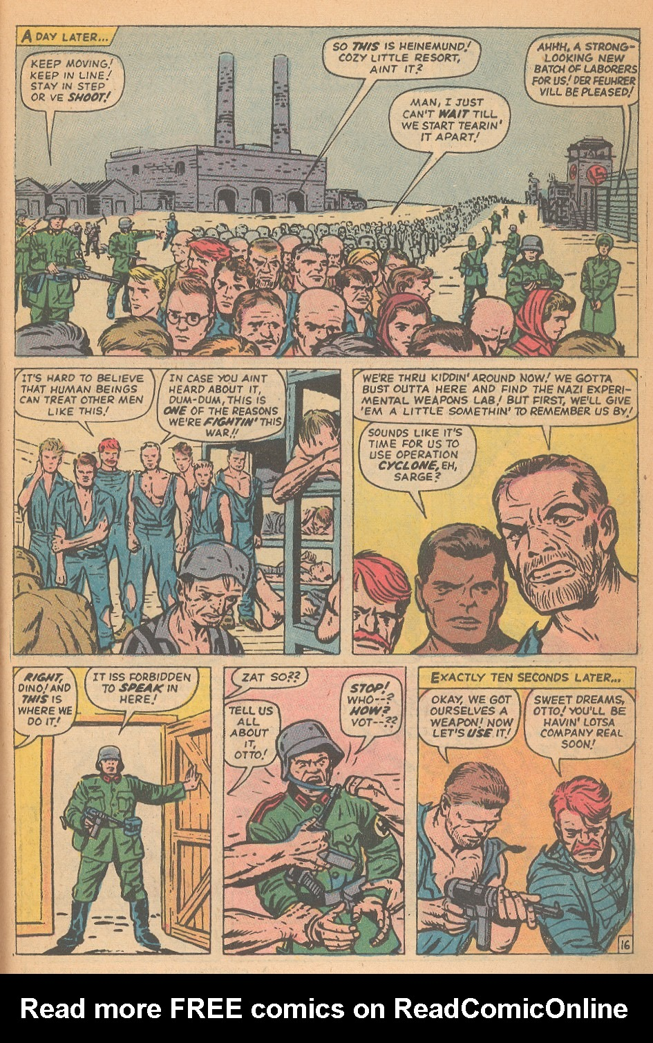 Read online Sgt. Fury comic -  Issue #95 - 23