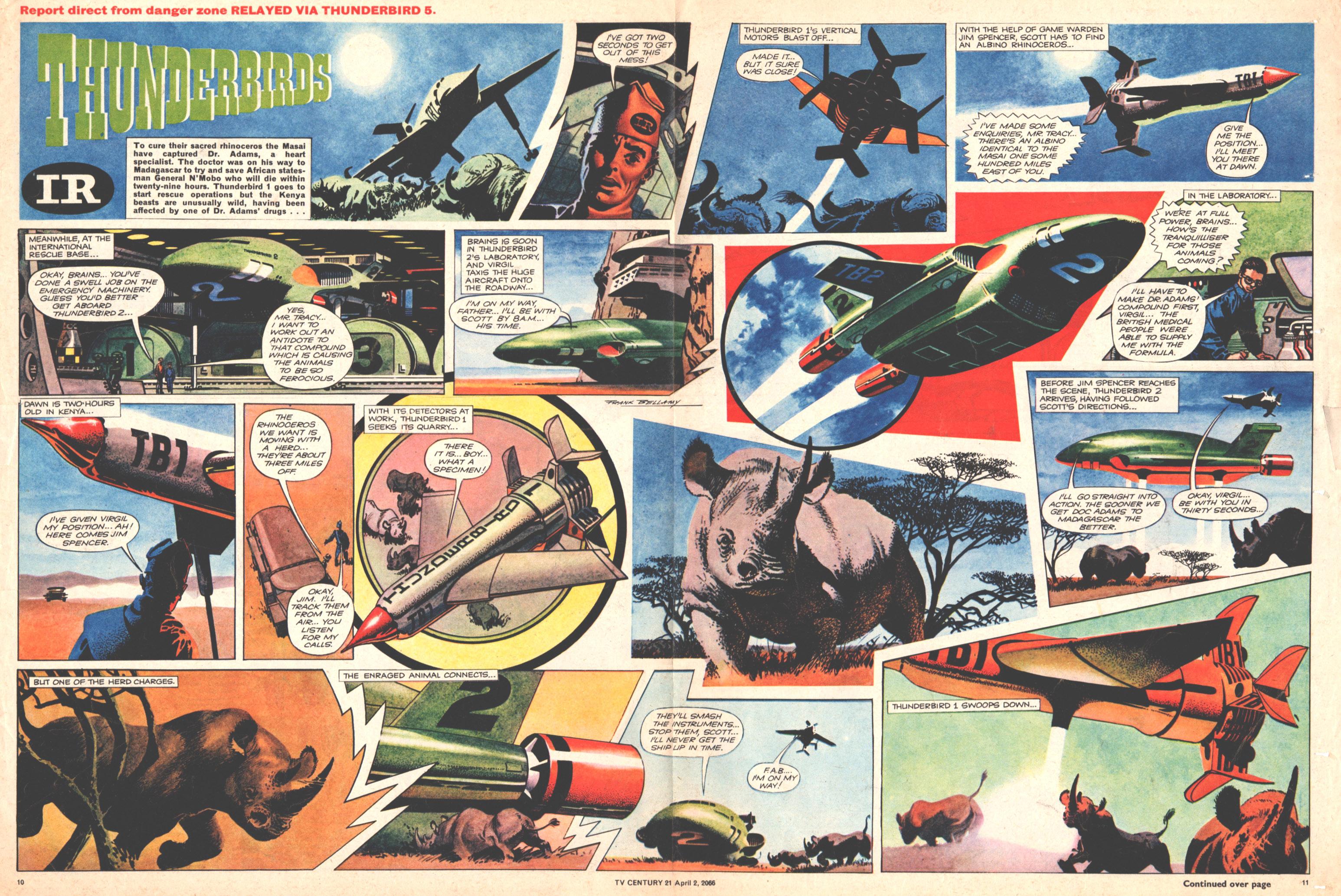 Read online TV Century 21 (TV 21) comic -  Issue #63 - 10