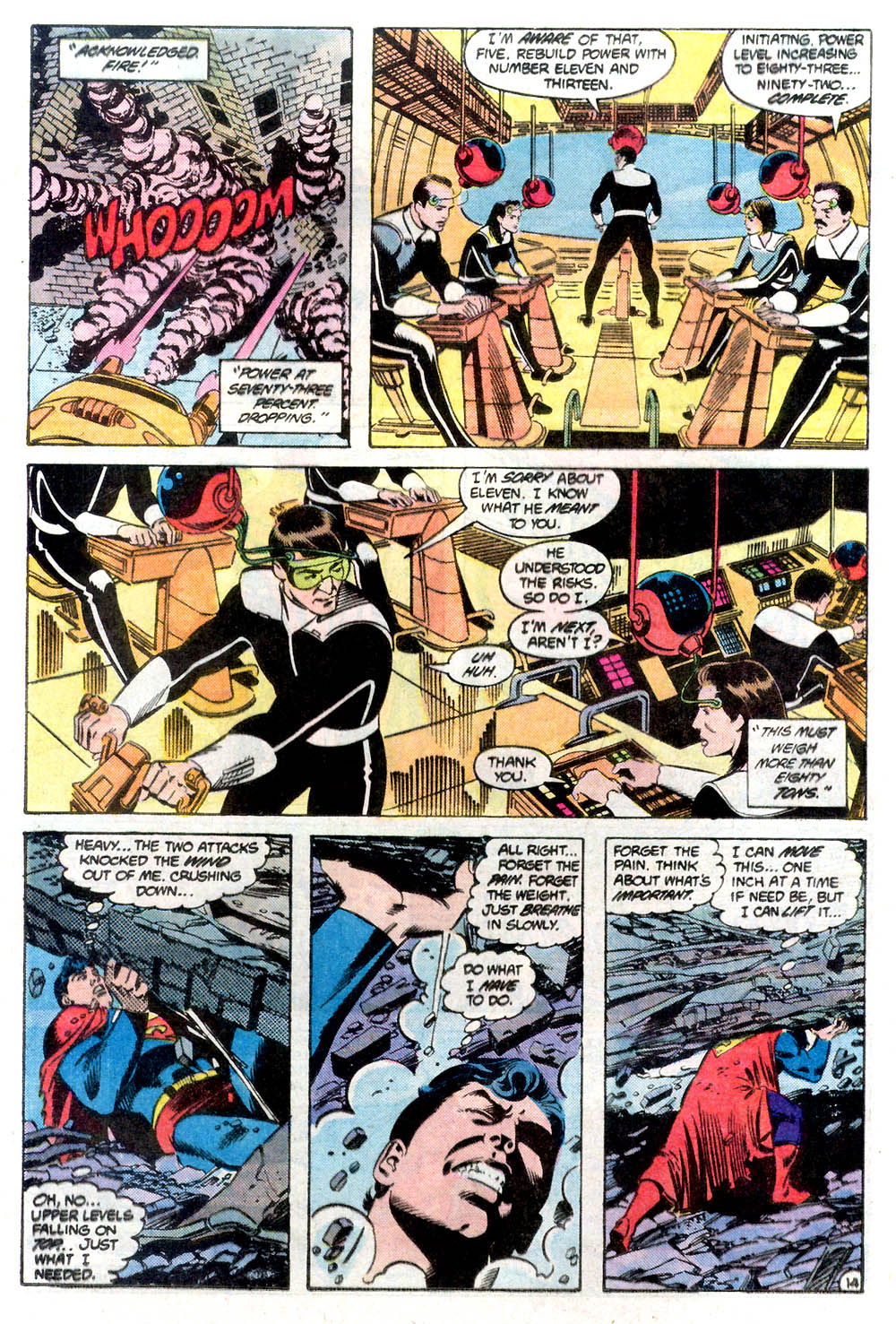 Read online Adventures of Superman (1987) comic -  Issue #424 - 15