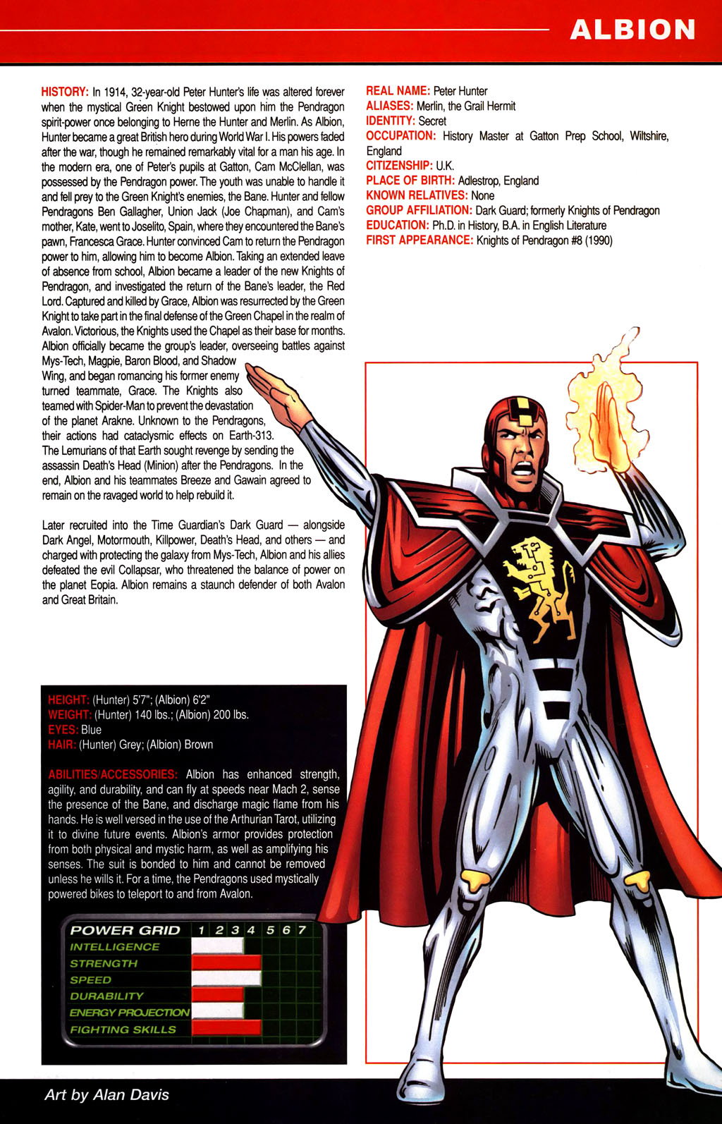 Read online All-New Official Handbook of the Marvel Universe A to Z comic -  Issue #1 - 17