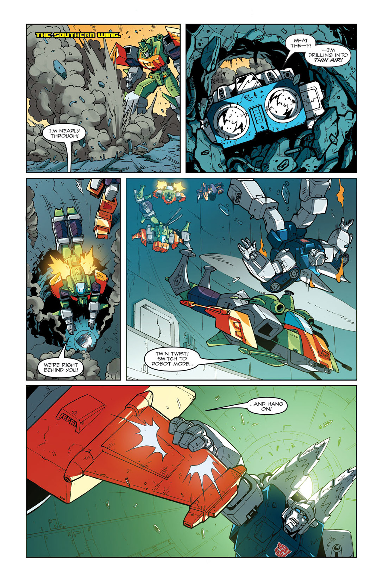 Read online Transformers: Last Stand of The Wreckers comic -  Issue #3 - 13