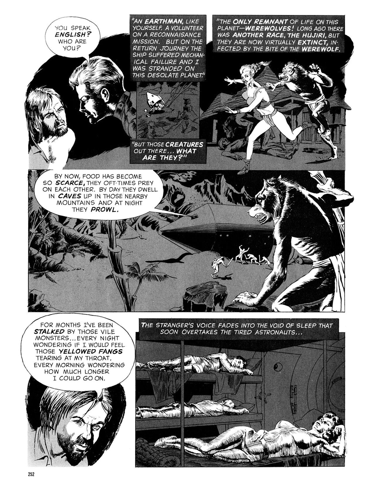 Read online Eerie Archives comic -  Issue # TPB 9 - 253
