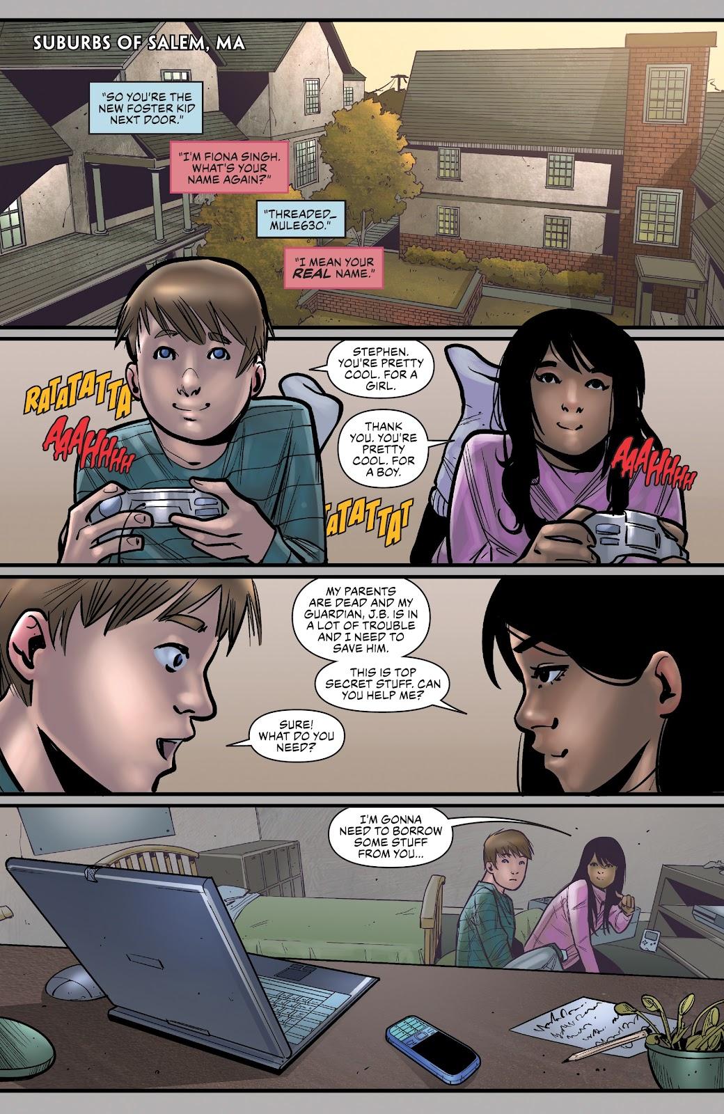 Read online Summit comic -  Issue #12 - 7