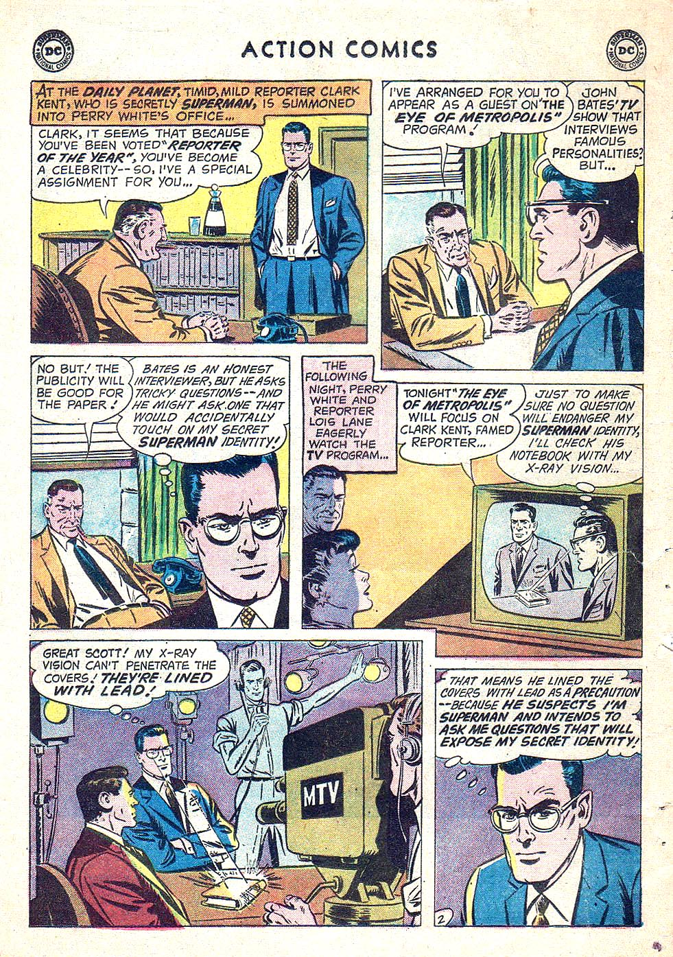 Read online Action Comics (1938) comic -  Issue #250 - 4