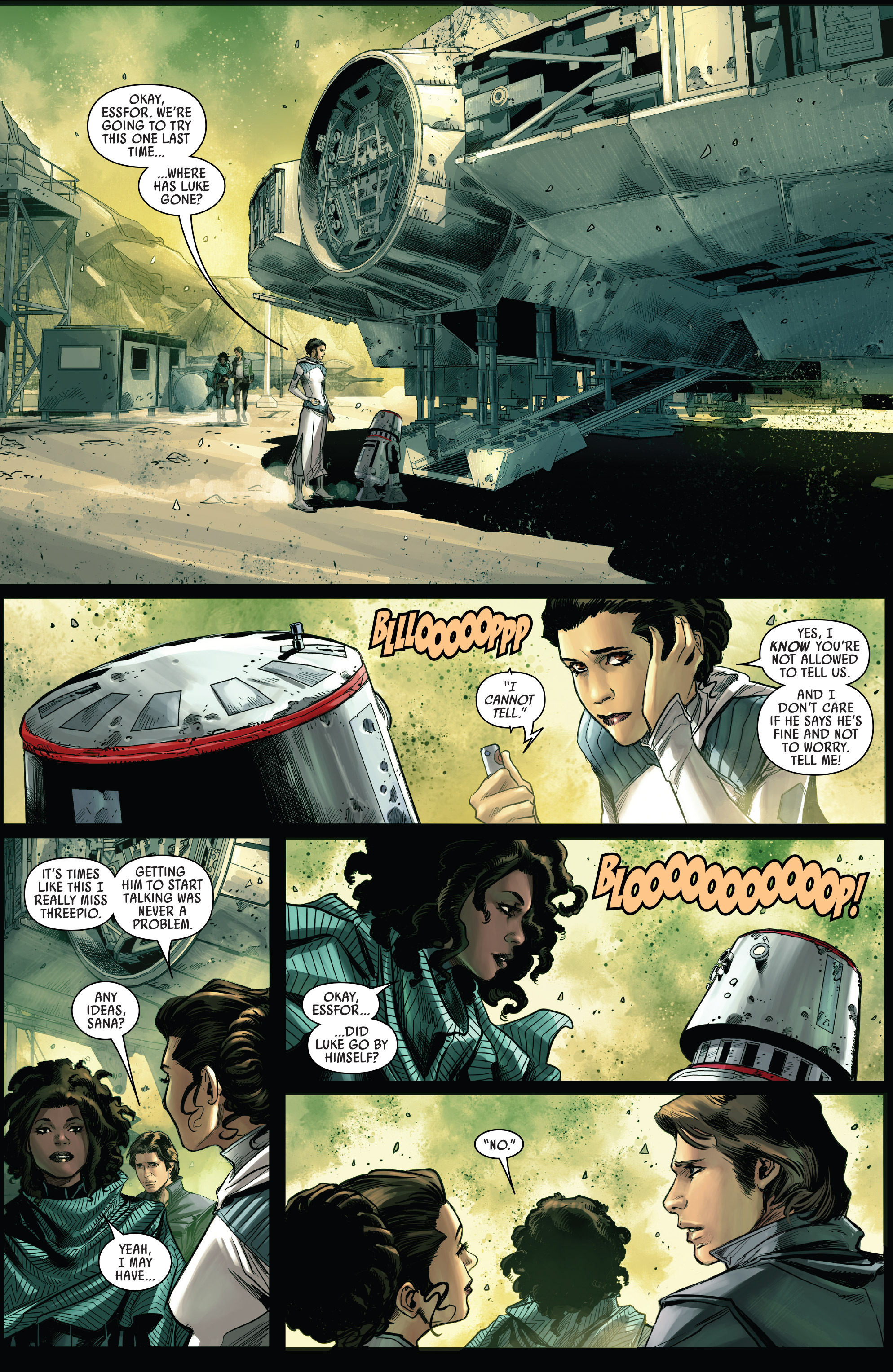 Read online Star Wars: The Screaming Citadel comic -  Issue # Full - 20