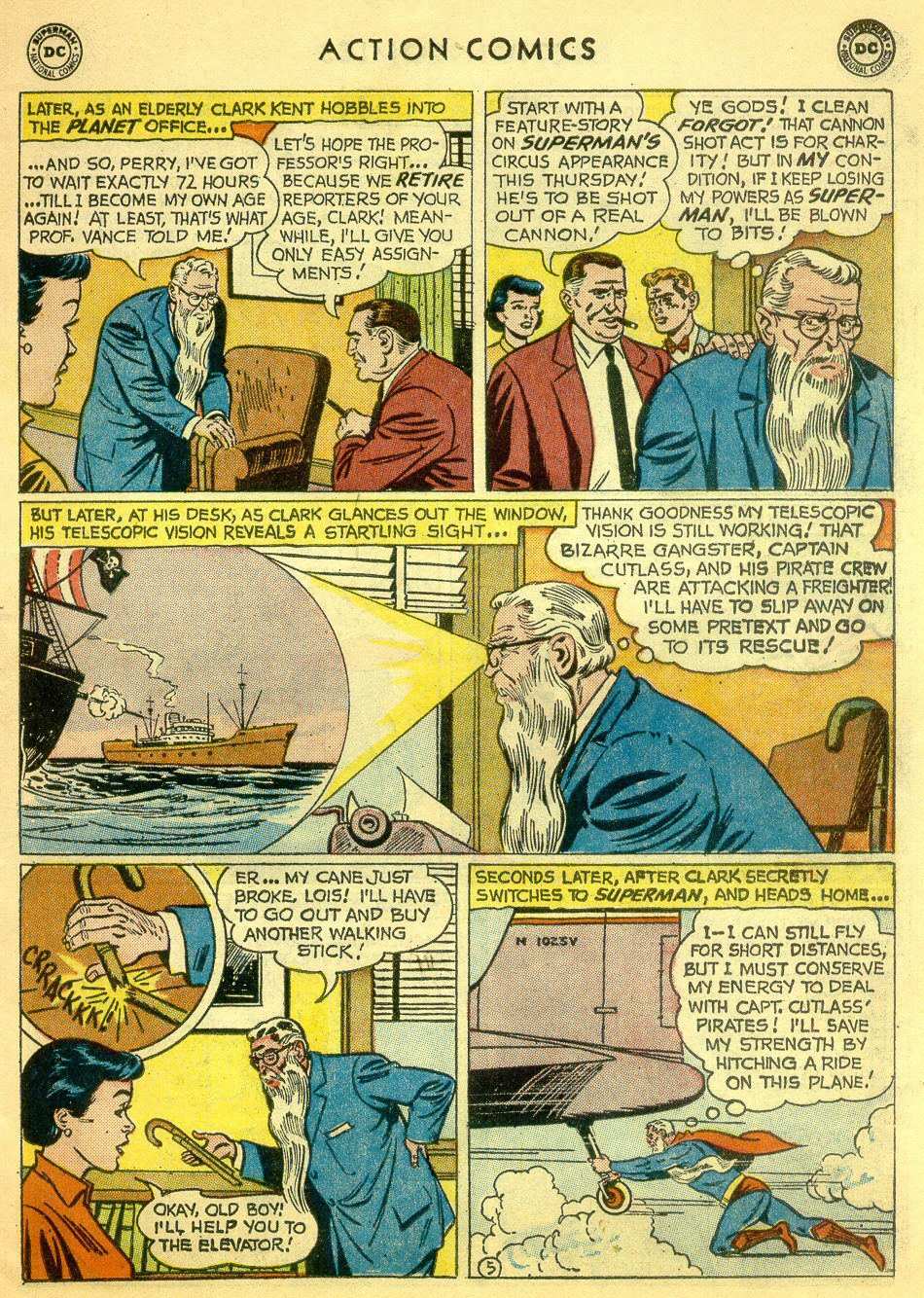 Read online Action Comics (1938) comic -  Issue #251 - 7