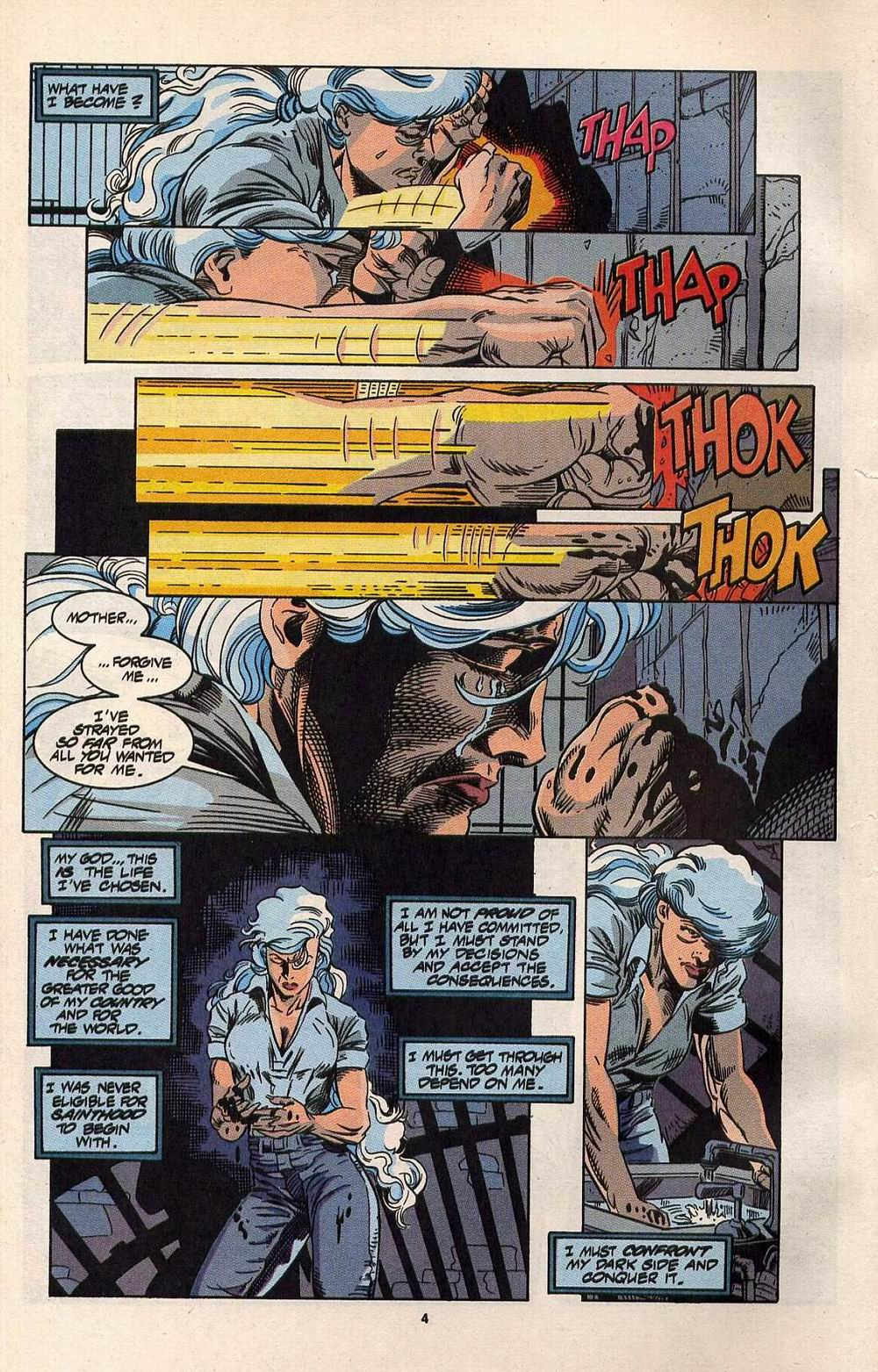 Read online Silver Sable and the Wild Pack comic -  Issue #30 - 5