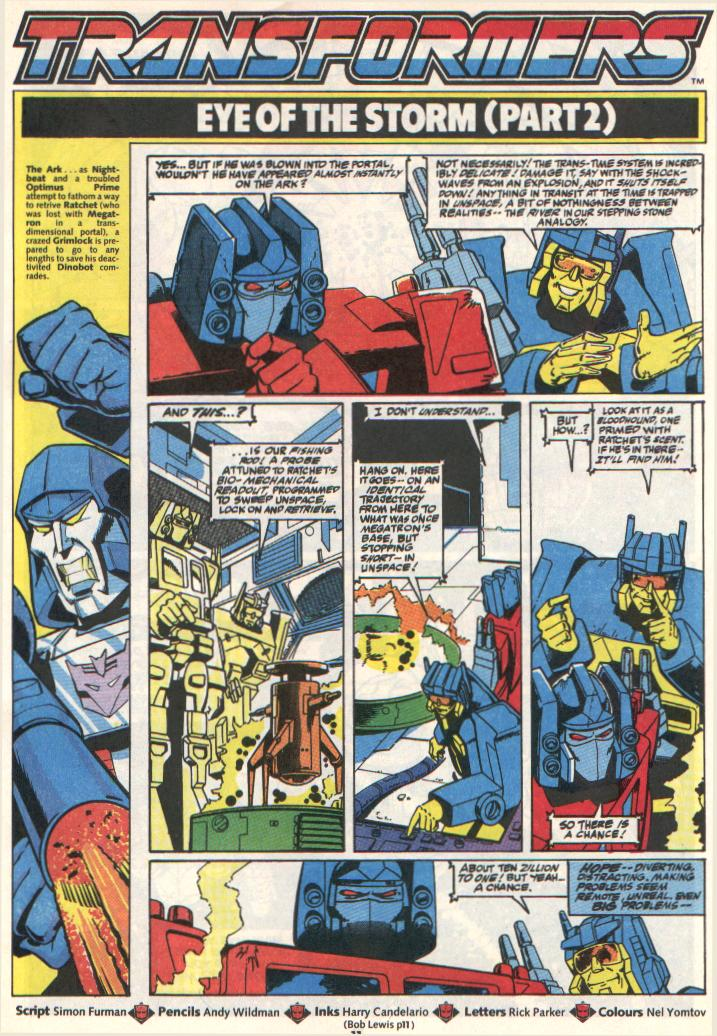 The Transformers (UK) 307 Page 2