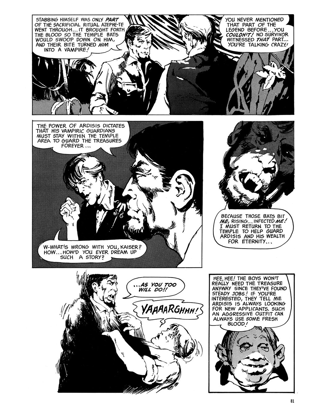 Read online Eerie Archives comic -  Issue # TPB 3 - 82