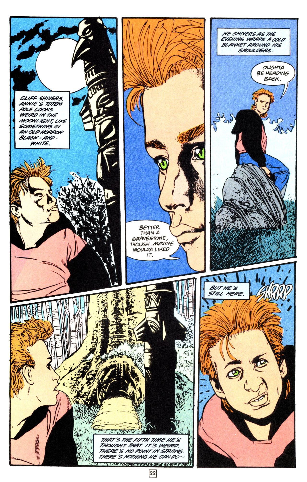 Read online Animal Man (1988) comic -  Issue #70 - 22