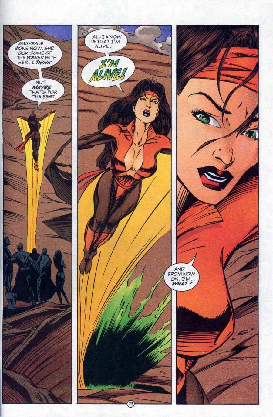 Read online Ex-Mutants comic -  Issue #17 - 24