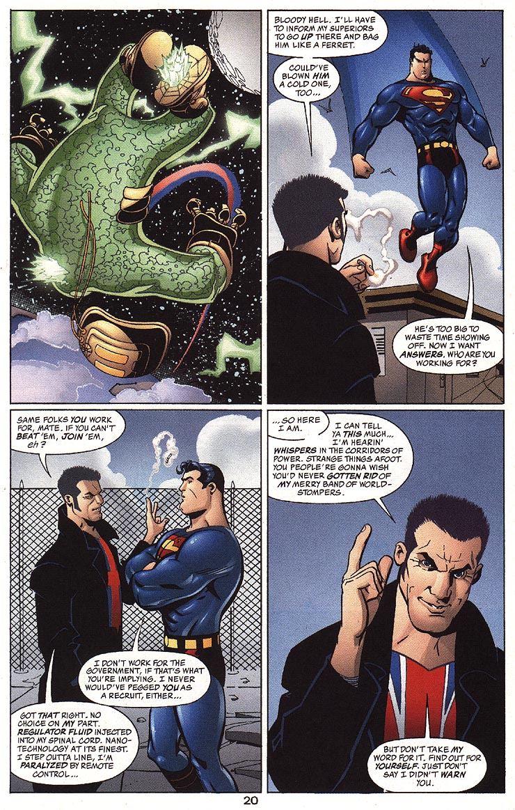 Read online Adventures of Superman (1987) comic -  Issue #593 - 23