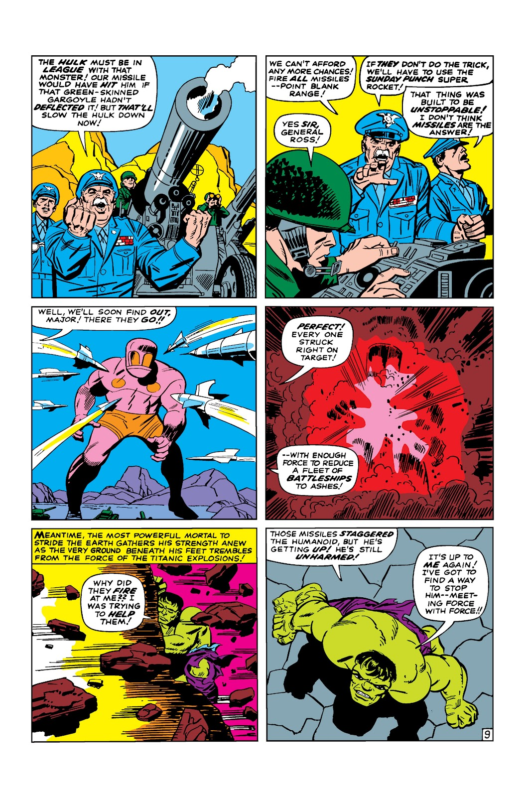 Read online Marvel Masterworks: The Incredible Hulk comic -  Issue # TPB 2 (Part 2) - 43