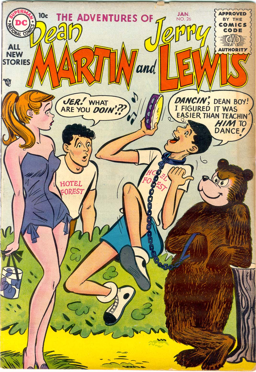 The Adventures of Dean Martin and Jerry Lewis 26 Page 1