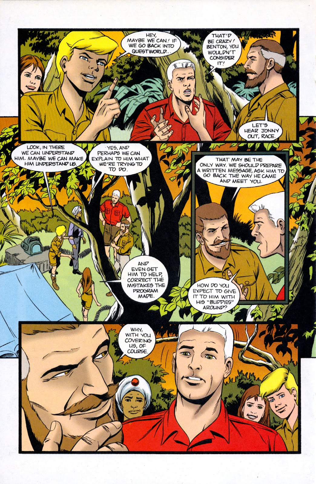 Read online The Real Adventures of Jonny Quest comic -  Issue #11 - 22