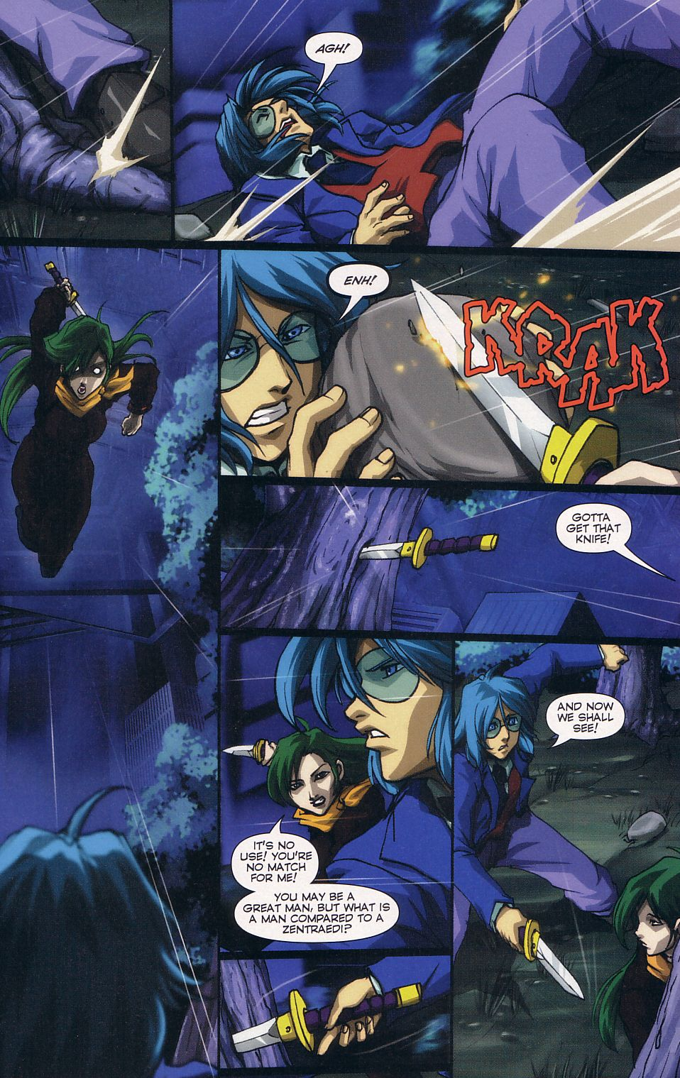 Read online Robotech: Love and War comic -  Issue #6 - 5