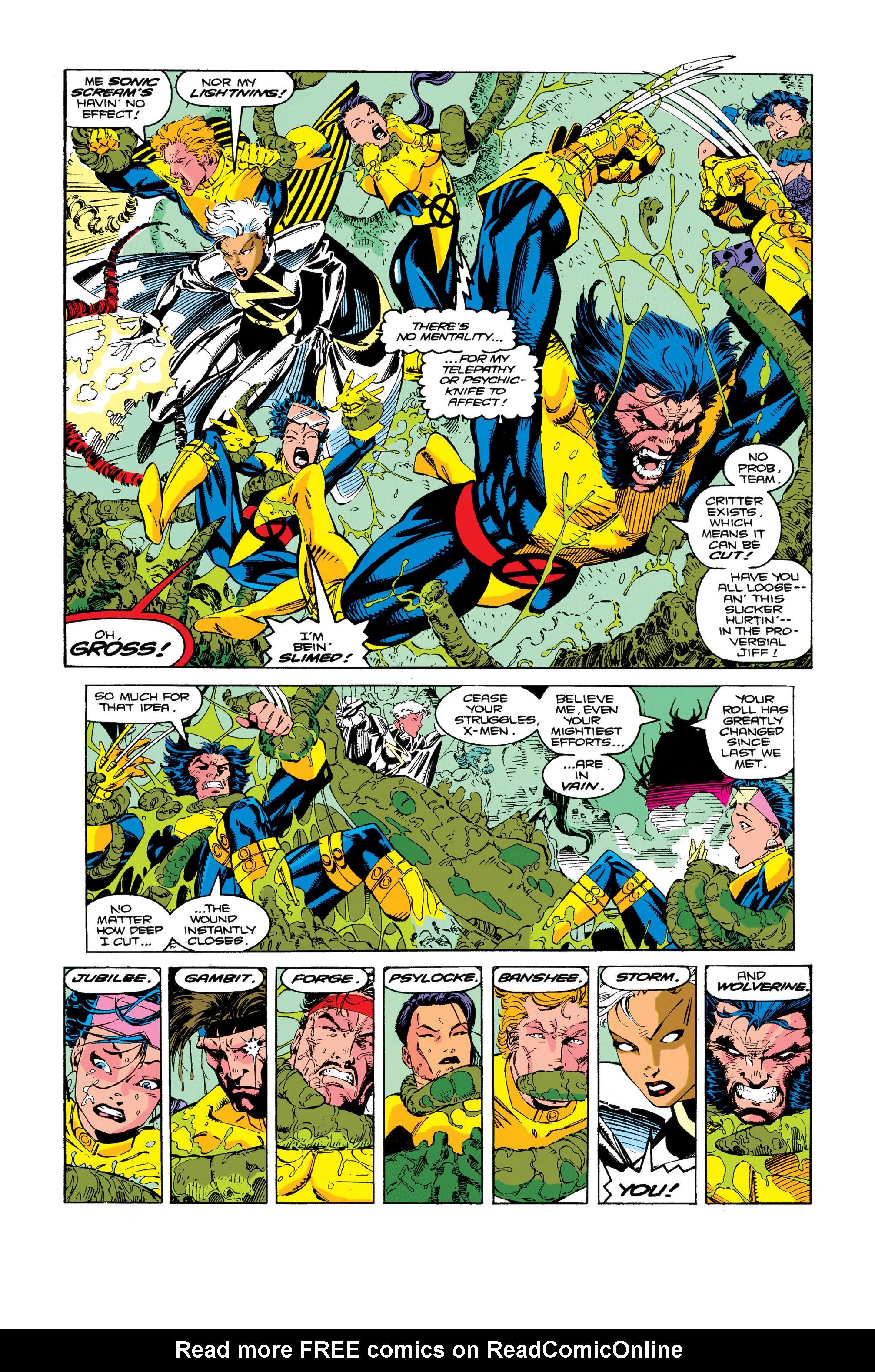 Read online Uncanny X-Men (1963) comic -  Issue #274 - 22