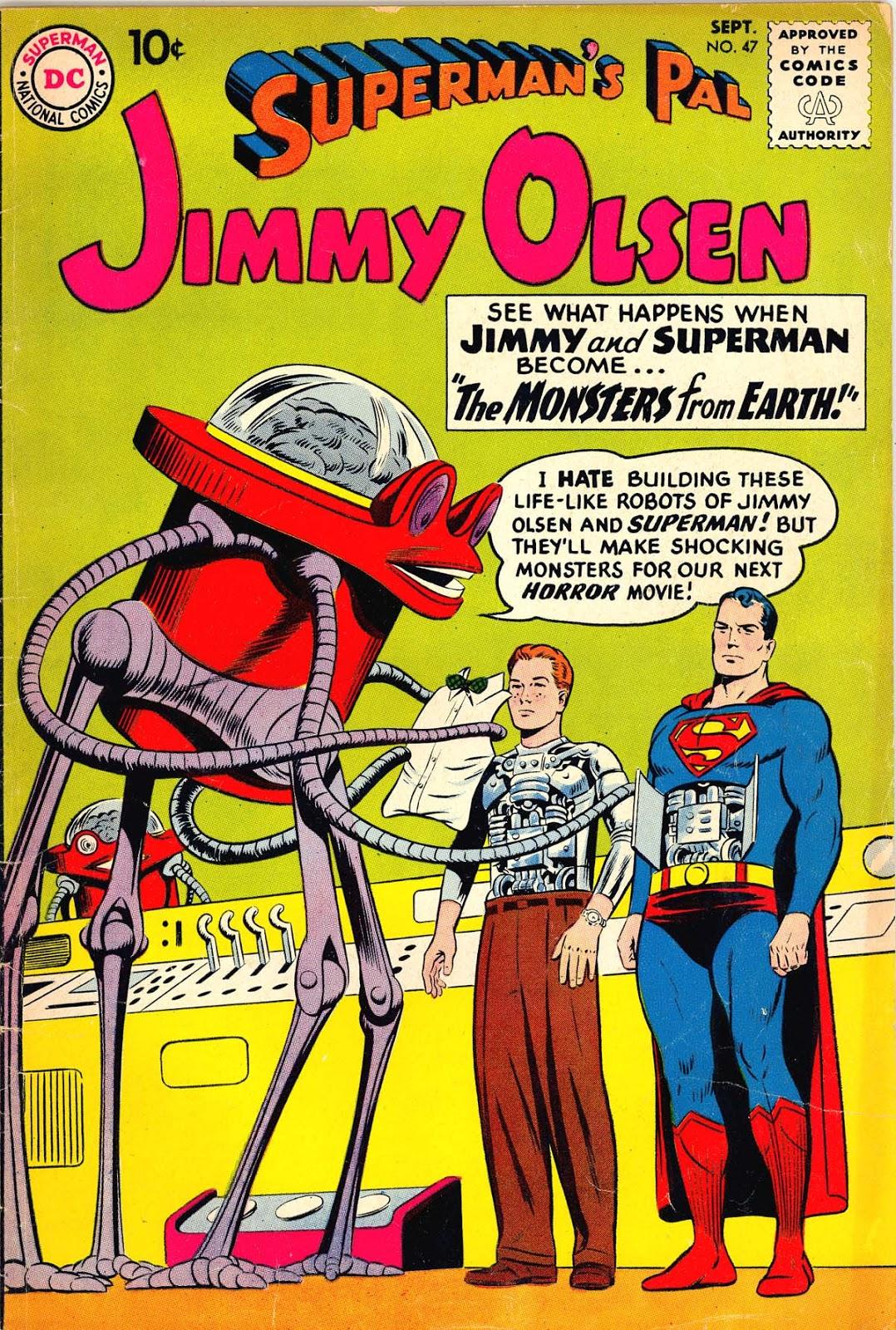 Supermans Pal Jimmy Olsen (1954) 47 Page 1