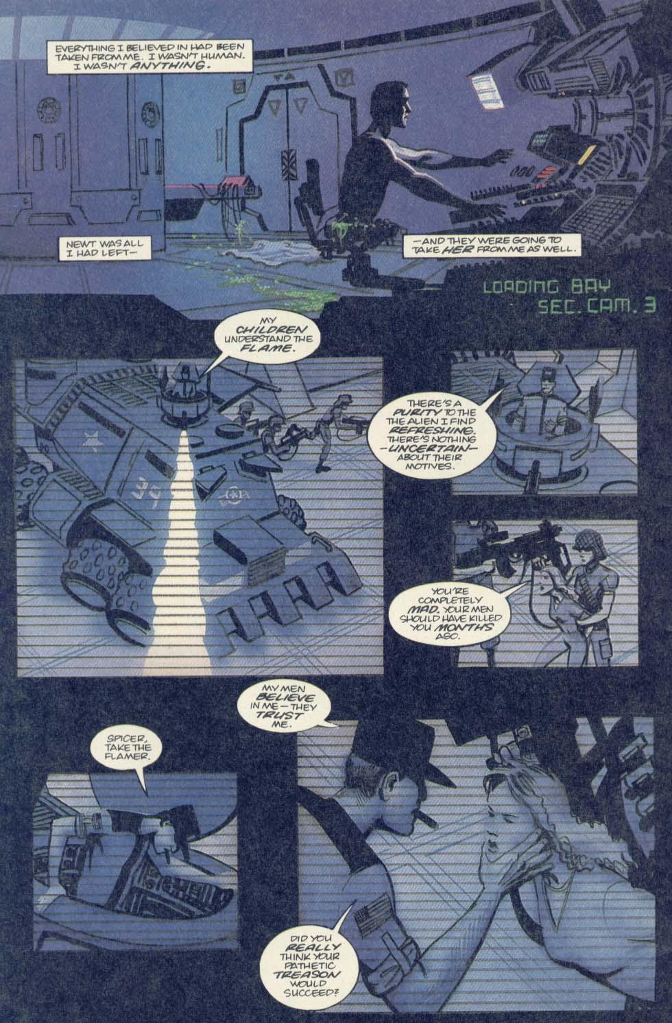 Read online Aliens (1989) comic -  Issue #4 - 4