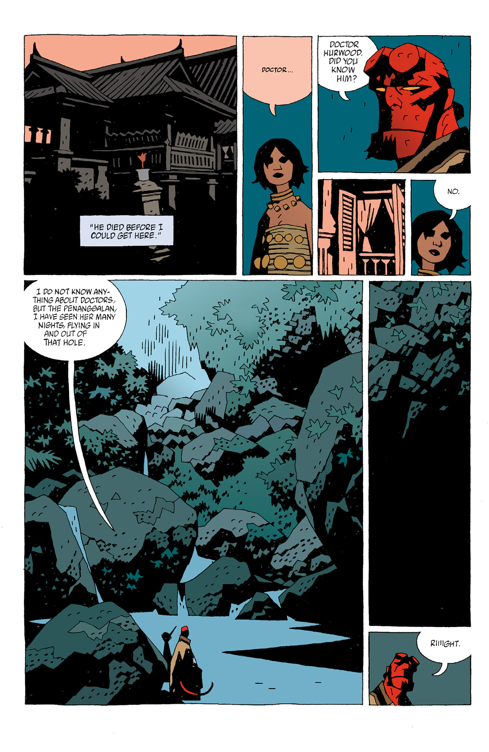Read online Hellboy: The Troll Witch and Others comic -  Issue # TPB - 10