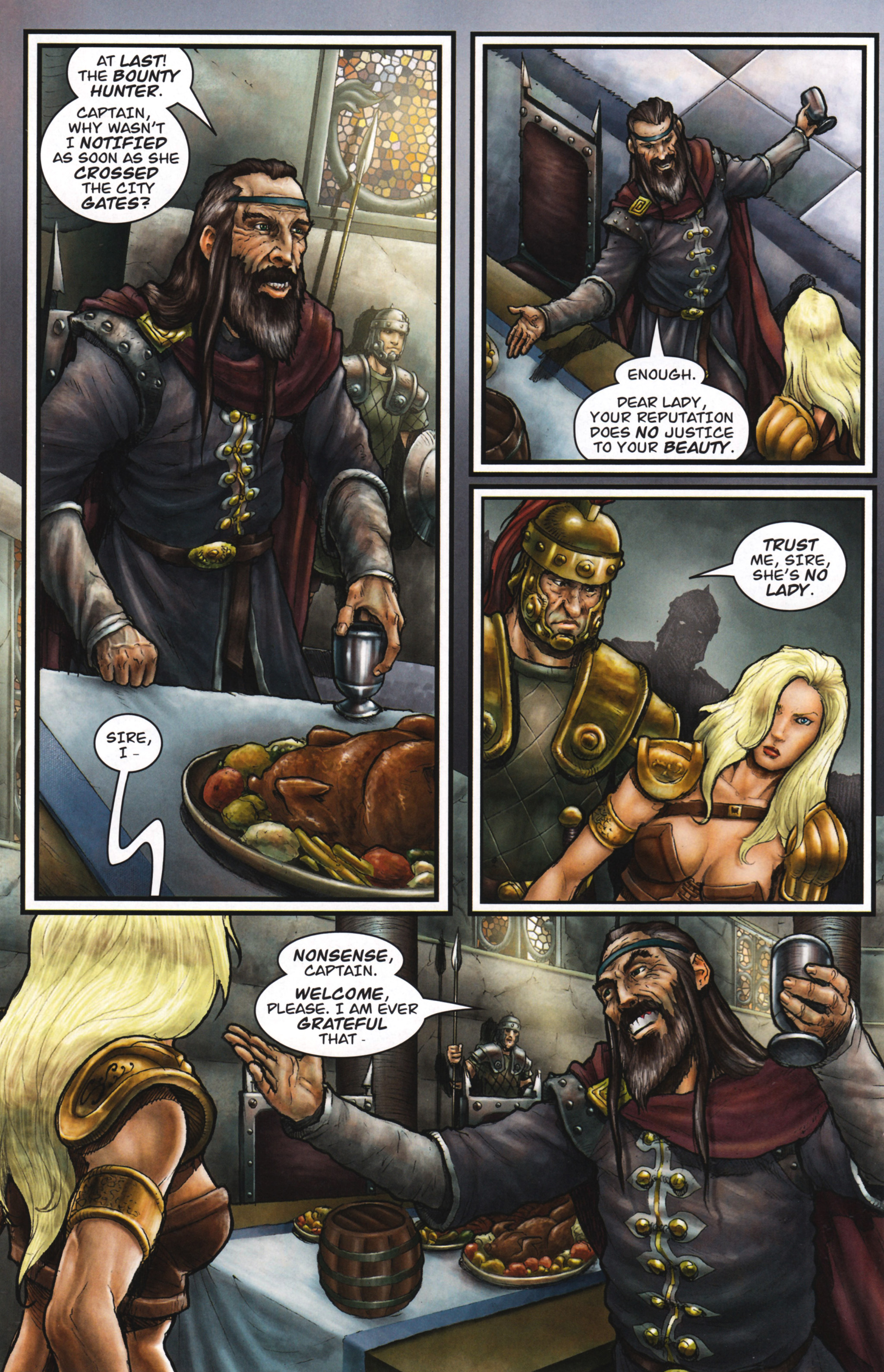Read online Arhian: Head Huntress comic -  Issue #1 - 28