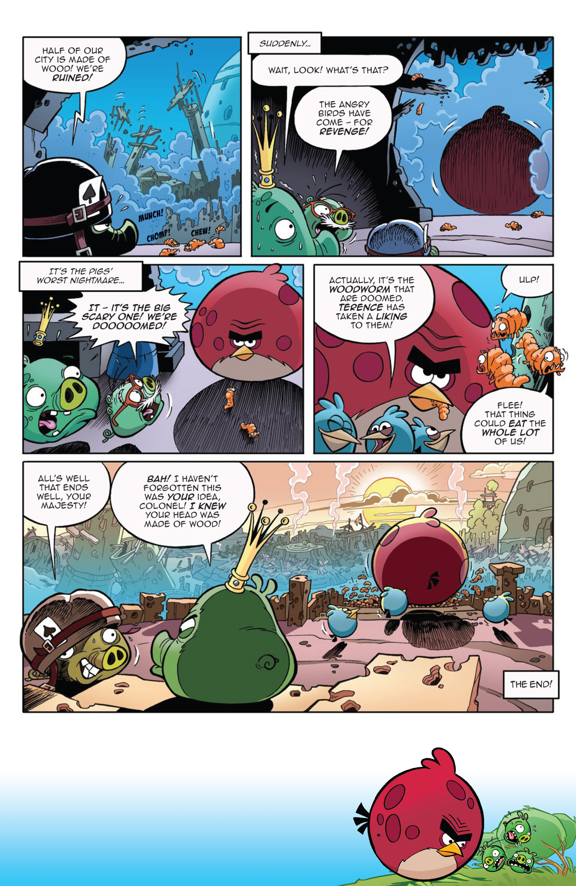 Read online Angry Birds Comics (2014) comic -  Issue #9 - 21