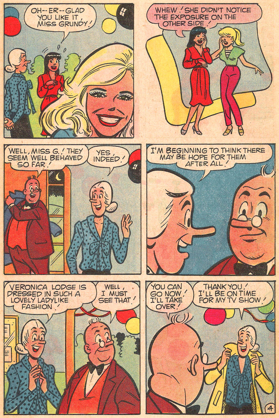 Read online Archie's Girls Betty and Veronica comic -  Issue #309 - 30