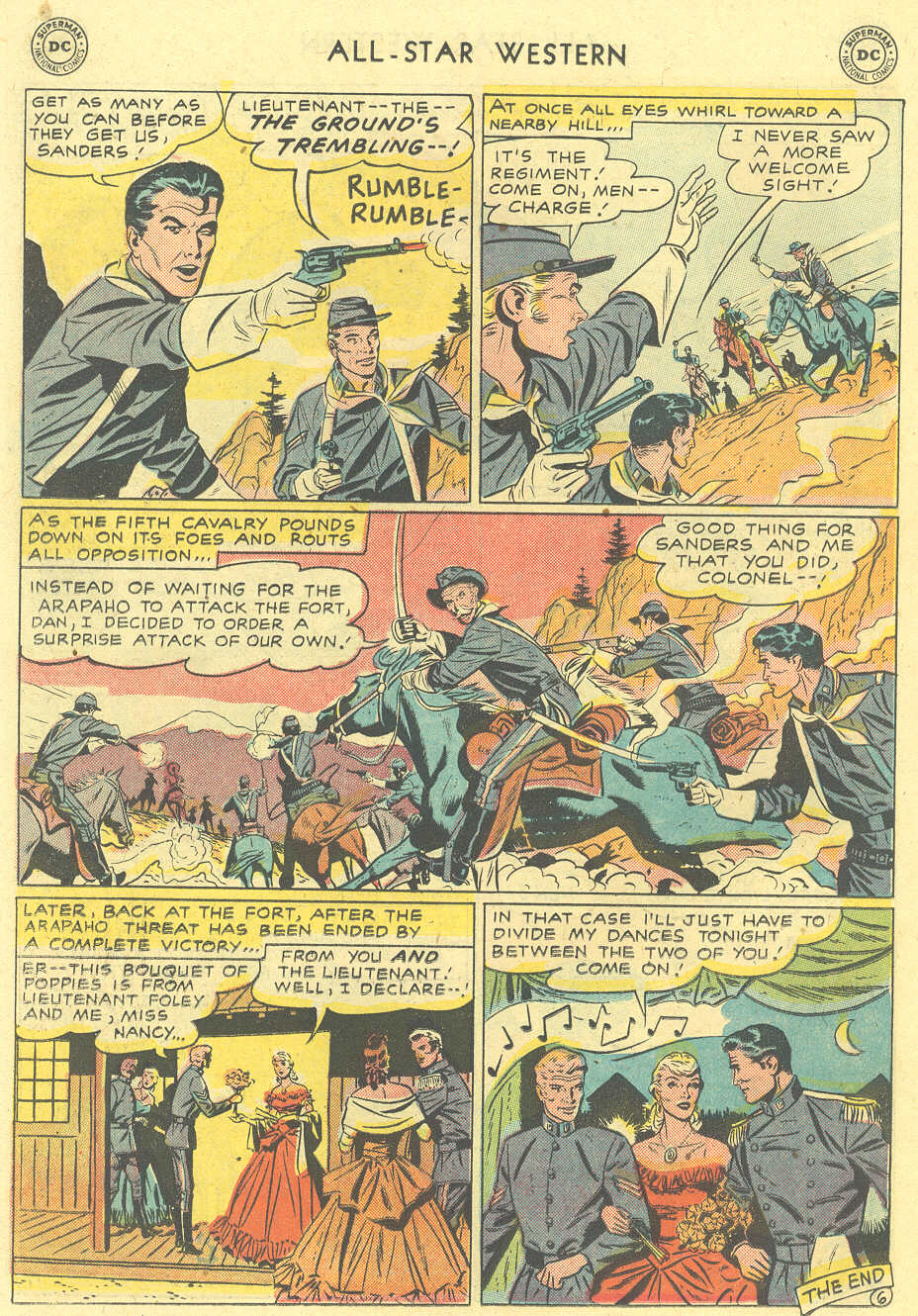 Read online All-Star Western (1951) comic -  Issue #101 - 22