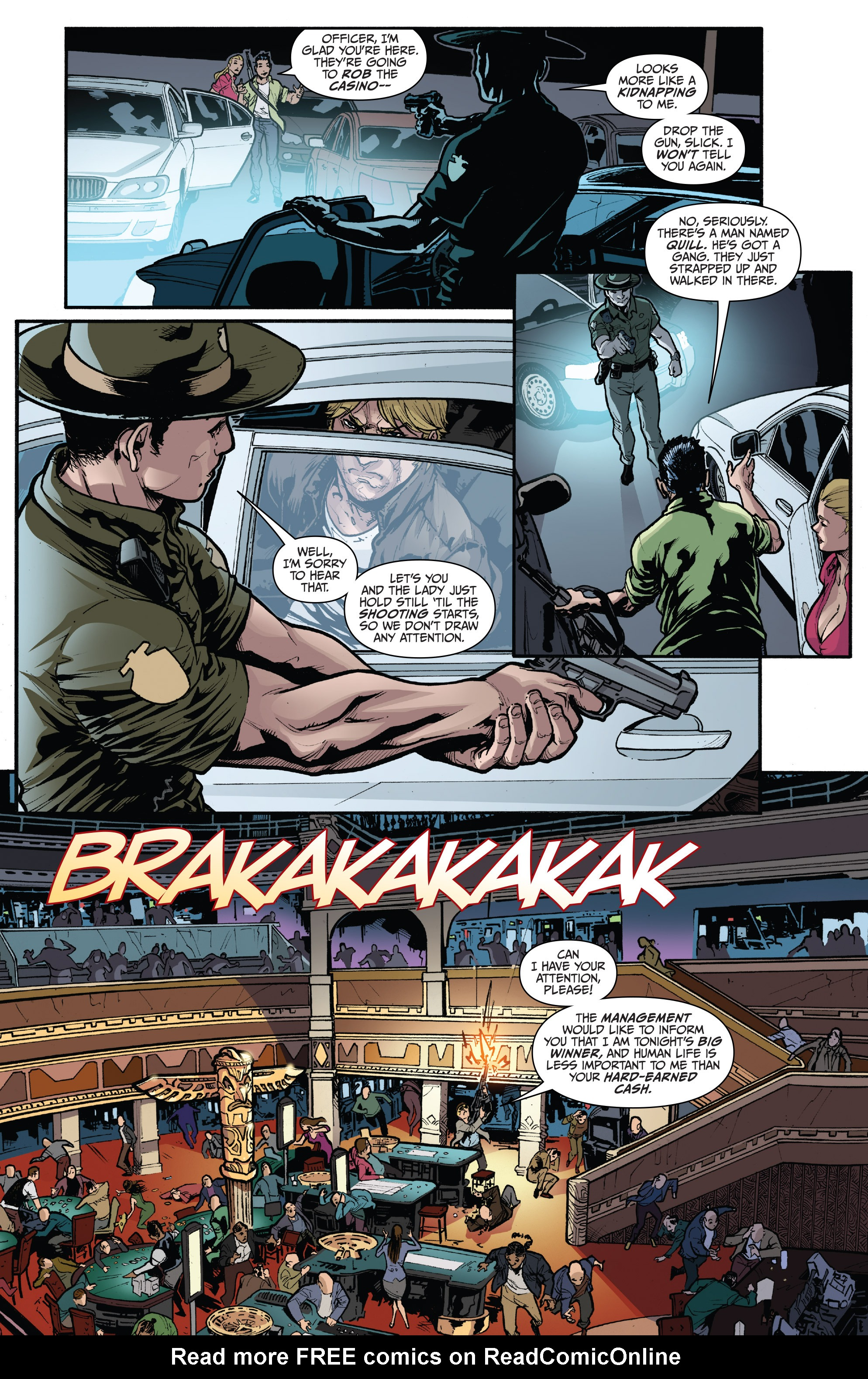 Read online 3 Guns comic -  Issue #6 - 6