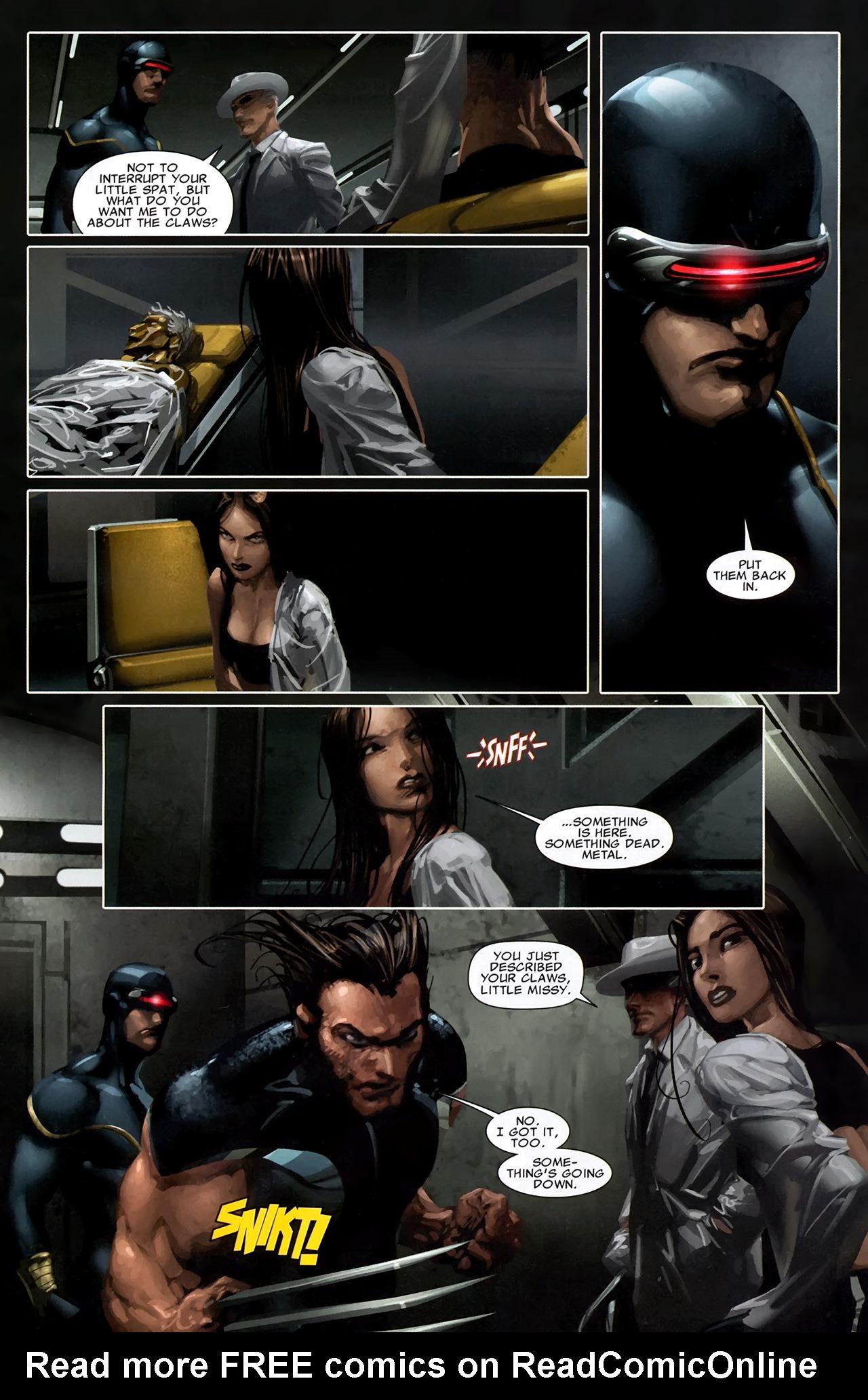 Read online X Necrosha comic -  Issue # Full - 15