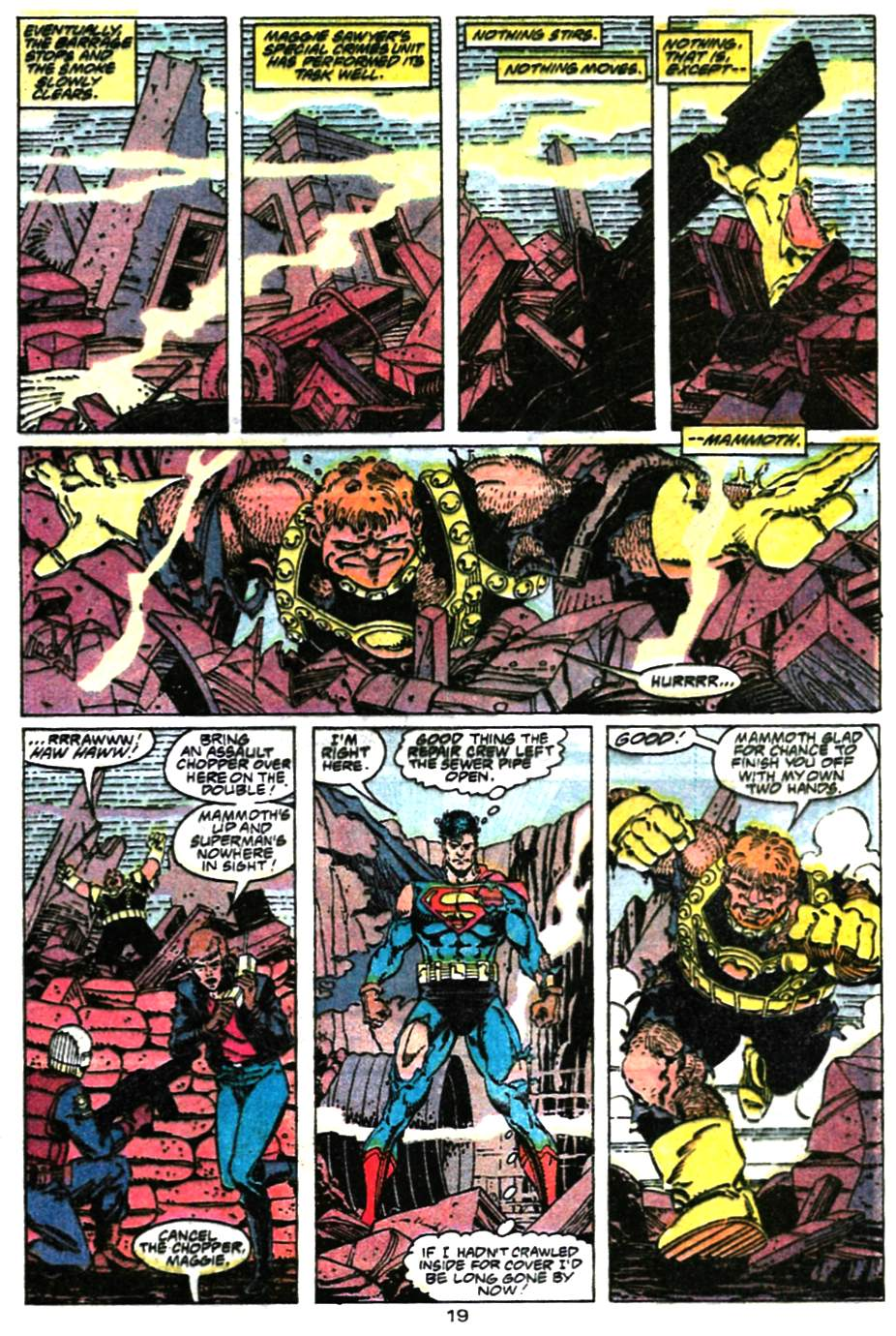 Read online Adventures of Superman (1987) comic -  Issue #472 - 20